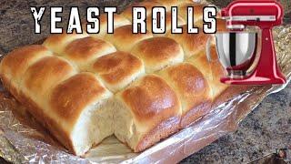 Yeast Dinner Rolls NO KNEAD just like Grandma sewards