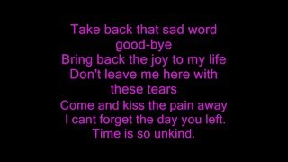 Download Unbreak my heart lyrics