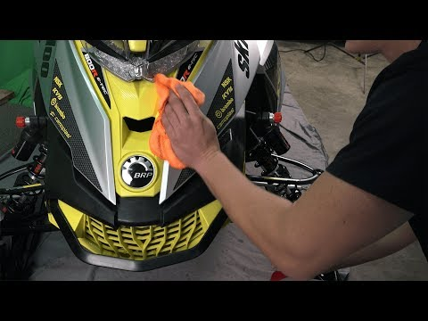 Tips for Cleaning Sleds / Snowmobiles