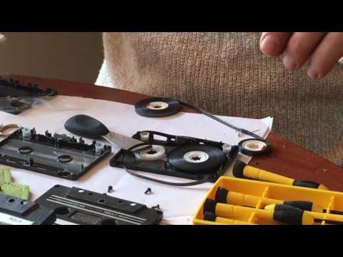 Audio Cassette tape repair -