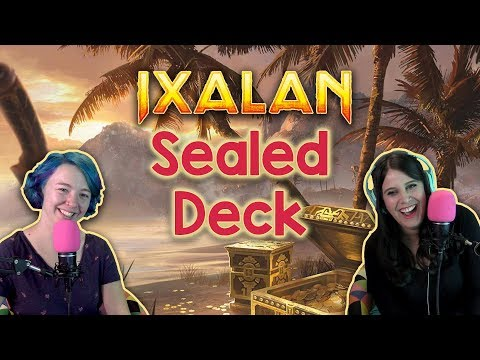 How to Build a GREAT Ixalan Sealed Deck! PPTQ Practice for Magic the Gathering (MtG)