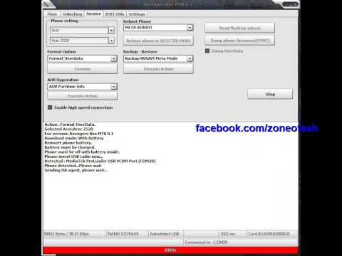 Clone Samsung S5 N9006v Format