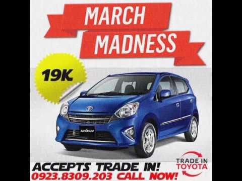 Toyota Mandaue North Cebu, Inc. March Madness Promo!