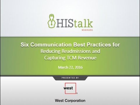 Six Communication Best Practices for Reducing Readmissions and Capturing TCM Revenue
