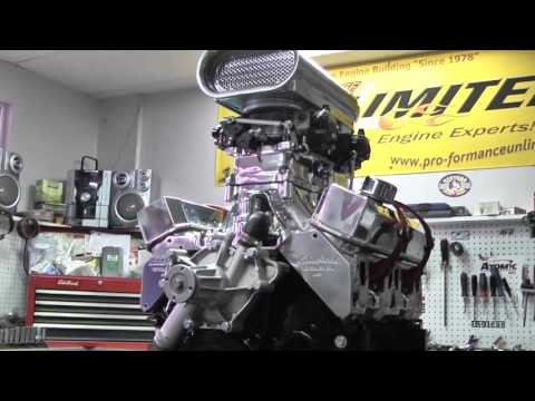 408 Chrysler Stroker Crate Engine With Weiand Tunnel Ram
