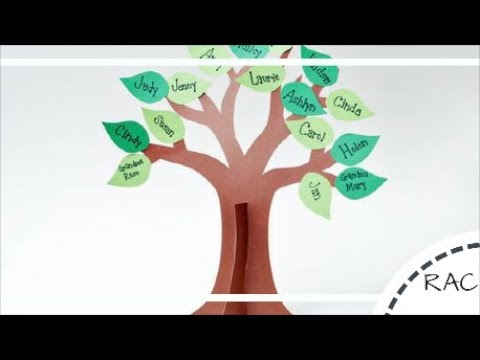 HOW TO MAKE A FAMILY TREE|DIY| Best Out Of Waste | RECYCLED KIDS CRAFT|Recycled Arts and Crafts-13