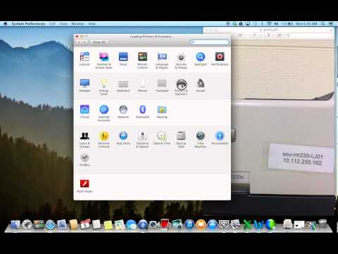 How to add a printer to your MacBook Air
