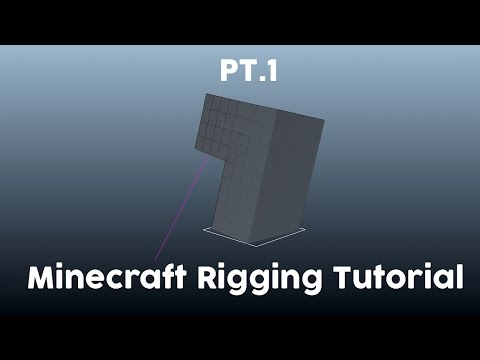 Minecraft Cinema 4D Rigging Tutorial Pt.1