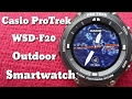 Download  Casio Protrek Wsd-f20 : Start-up And Set-up  MP3,3GP,MP4