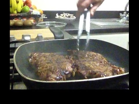 How to prepare,marinate and cook tender beef steak