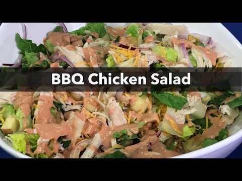 Quick Recipe - BBQ Chicken Salad