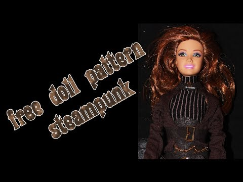 Make your own doll clothes - steampunk 1
