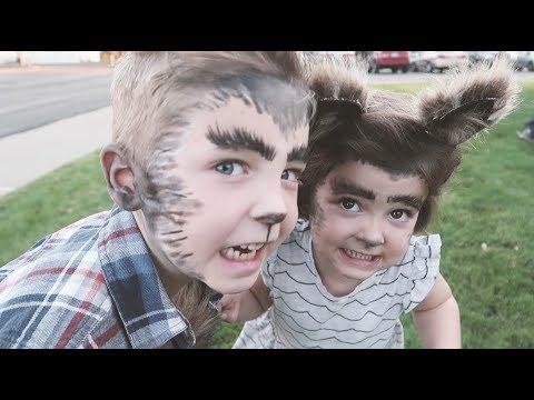 Werewolf Family Costumes - Halloween 2017