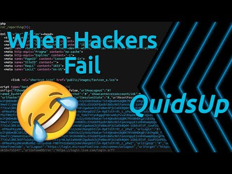 When Hackers Fail – Hey You Left Your Code Exposed 🤣