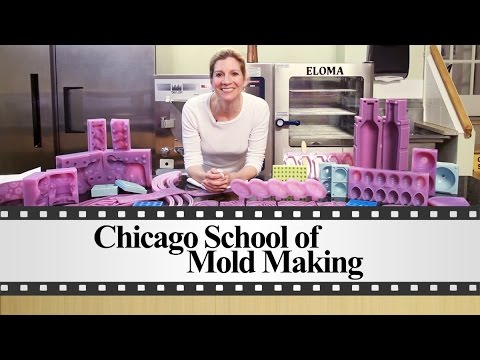 How to Clean Your Silicone Molds by The Chicago School of Mold Making
