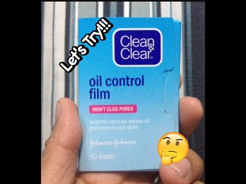Ton's Try It!!! Clean & Clear (Oil Control Film)