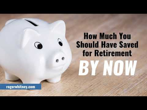 #190 -  How much you should have saved for retirement by now