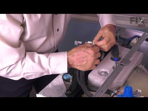 Whirlpool Washer Repair - How to Replace the Cold Inlet Valve
