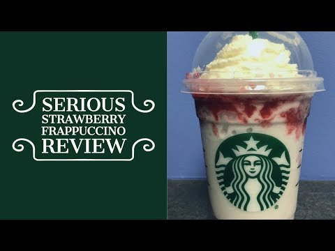 Starbucks Serious Strawberry Frappuccino Review