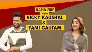 Vicky Kaushal Reveals Some Secrets In This Rapid Fire