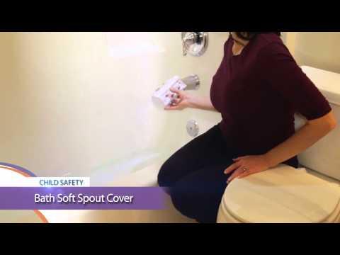 Child Safety Tip   Bath Soft Spout Cover
