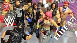WWE ELITE 47 WRESTLING FIGURE ACTION INSIDER MATTEL FULL SET TOY REVIEW!