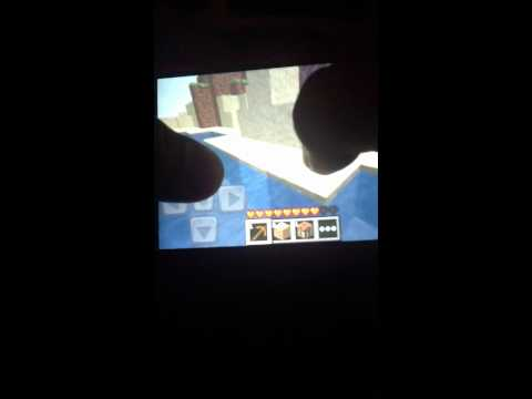 How to make a stone pick axe Minecraft PE