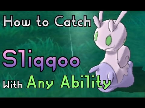 How to Catch Sliggoo - Pokemon Sun and Moon