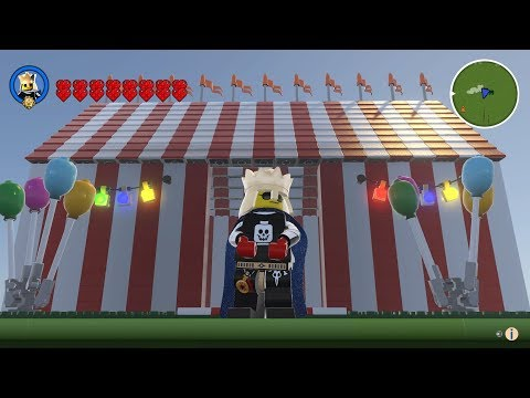Lego Worlds Episode 189 How To Build A Circus Tent
