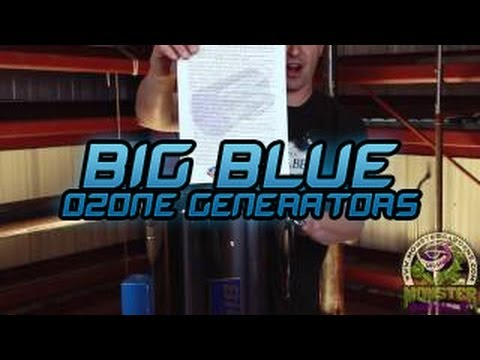 Big Blue Ozone Generators for Grow Rooms | Indoor Garden Ducting Ozone for Smell