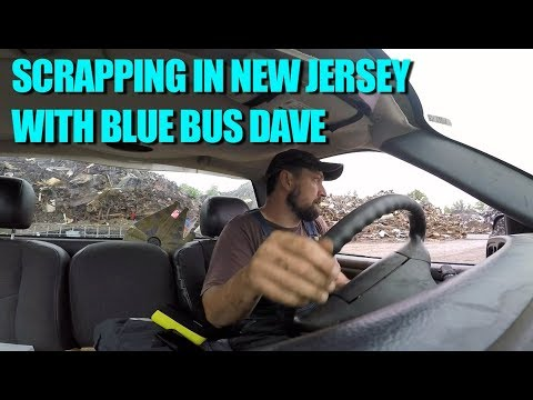 BBD Scrapping in New Jersey  A HUGE LOAD OF WIRE