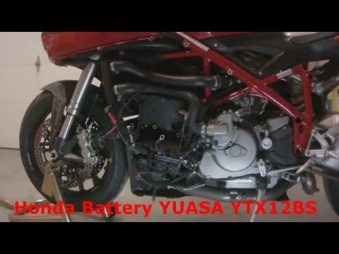 Ducati 848 Superbike Battery 1098 1198 Replacement