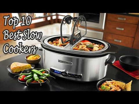 Top 10 Best Slow Cookers To Buy In 2018