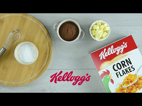 Kellogg's® Corn Flakes Chocolate Almond Thumbprint Cookies - Raya Recipe SG