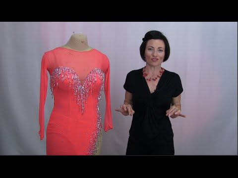 Online Sewing School for Dancesport, Country & Skater Dresses (clips from the actual courses)