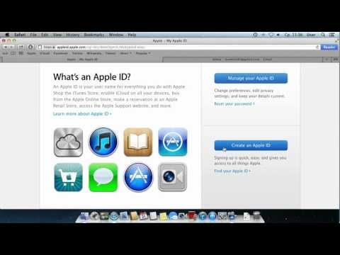 How to Register New Apple ID Account
