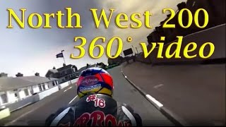 360° View of a NW200 practice lap