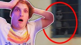 Top 5 Youtubers Who CAUGHT GHOSTS In Their Videos! (Logan Paul, Faze Adapt & More!)