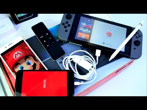 What happens when you connect Nintendo Switch to iPhone, iPad & More ???