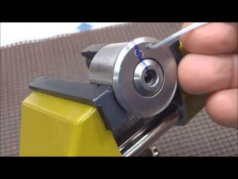 (188) How to Pick a Circular Keyway Lock