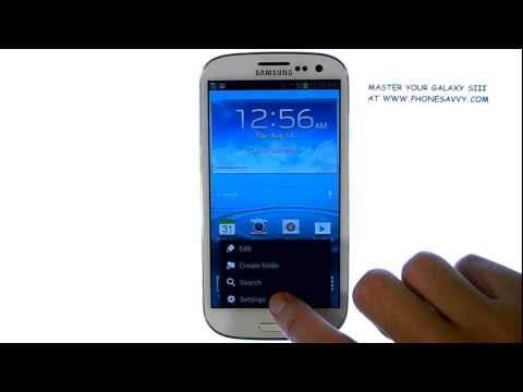 Samsung Galaxy SIII - How do I sync Contacts and Calendar With My Gmail Account