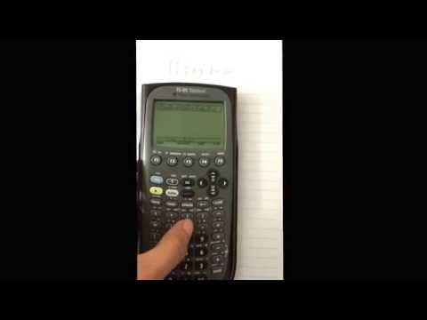 How to do double integrals using Ti 89