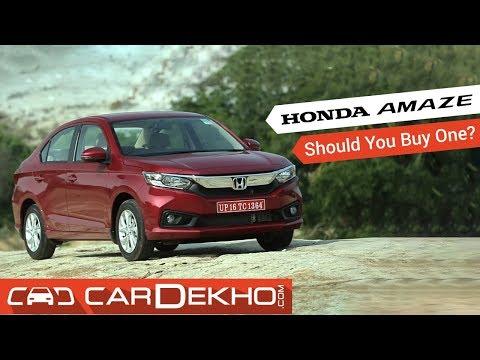 2018 Honda Amaze Pros, Cons and Should you buy one?   CarDekho.com