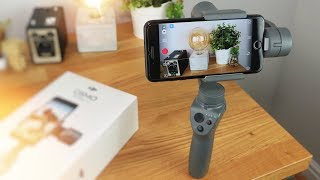 DJI OSMO MOBILE 2 Unboxing and First Look!