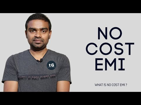 What is No Cost EMI - How to Buy a Product from No Cost EMI