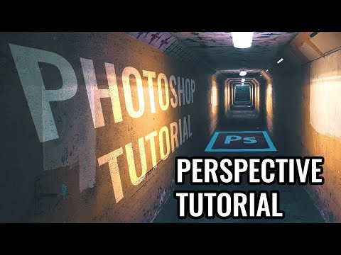 How to Add Text & Photos to Anything in Photoshop - Perspective Tutorial