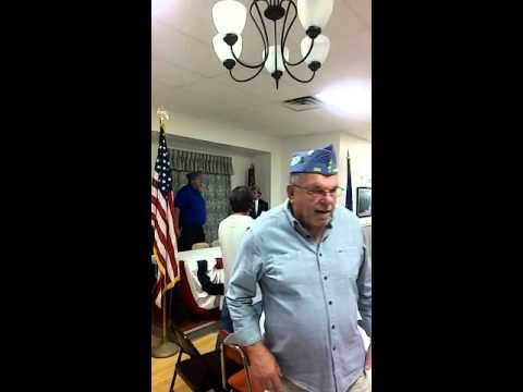 The Sons of The American Legion Squadron 124 Installation of Officers for 2015-2016