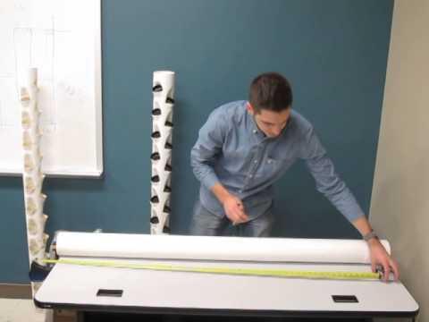 How to Make a Vertical Tower for  Aquaponics / Hydroponics: Part 1 Measurements www.agrowponics.com