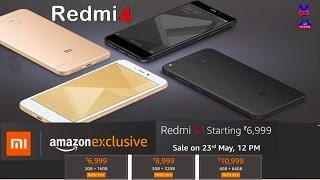 Xiaomi Redmi 4 price, specifications, features, comparison | Xiaomi Redmi 4 launched in India