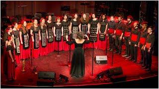 Pletenitsa Balkan Choir - Aishinko Pilya Shareno (Berklee Middle Eastern Festival)